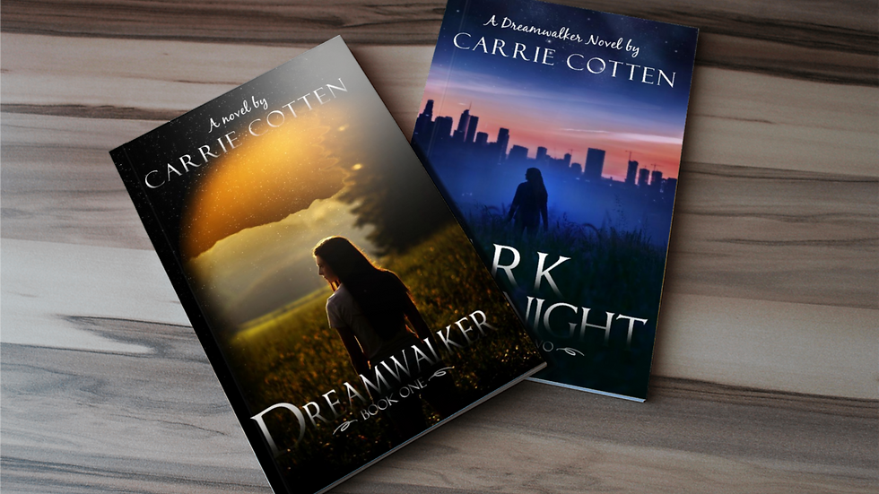 Autographed Box Set: Dreamwalker Books 1 &2 (Free Autograph, Shipping and swag)