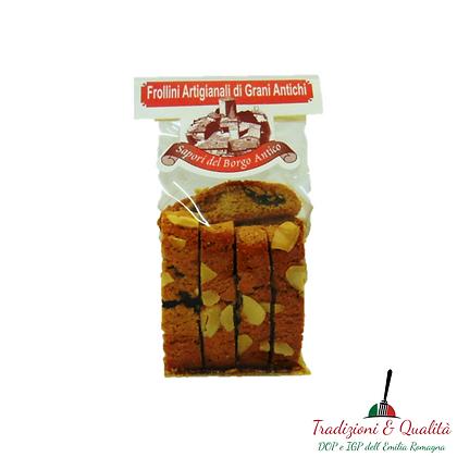 Biscotti artigianali Cantucci Mandorle e Mirtilli