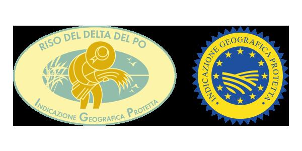 Logo Riso del Delta del Po Igp