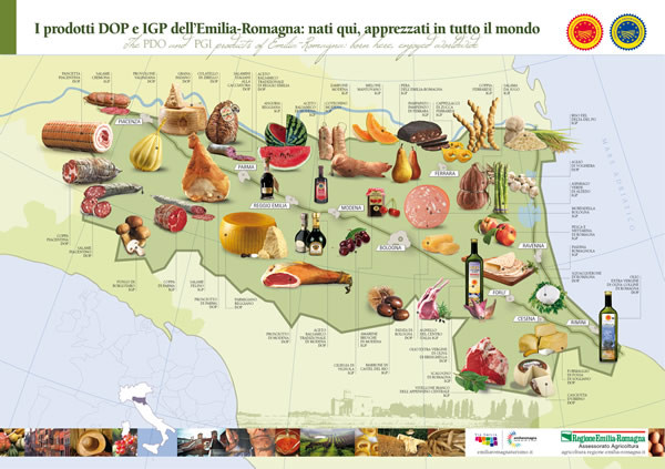 Dop ed Igp Emilia Romagna Tradizioni e Qualità