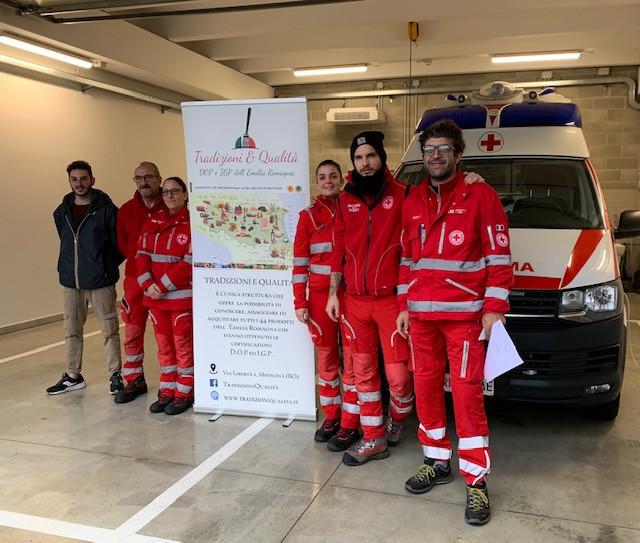 Tradizioni e Qualità e Croce Rossa Italiana