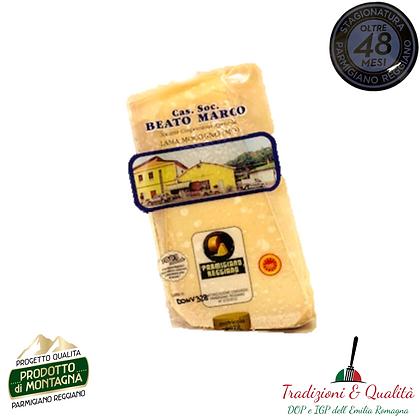 "Parmigiano Reggiano Dop ""48 Mesi"" di Montagna"