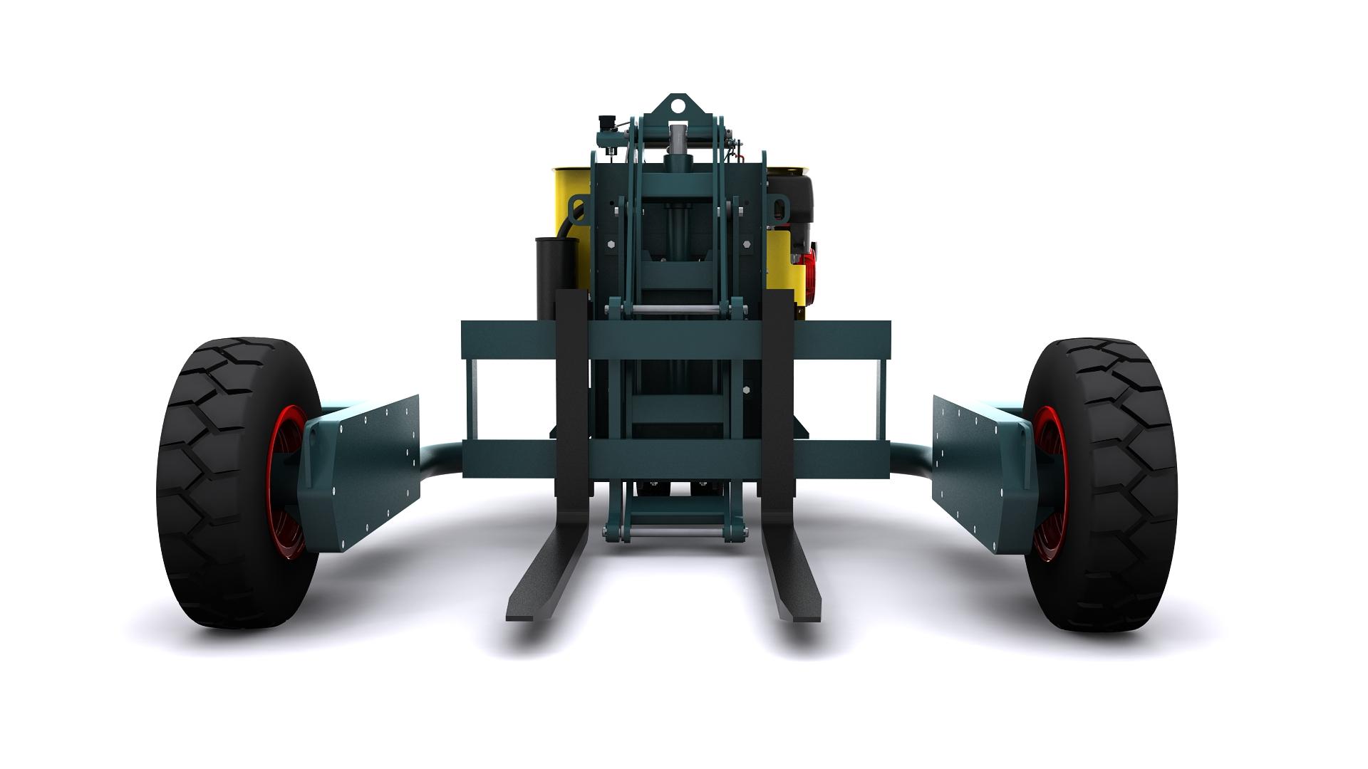 Hayon position basse - Standard chantier B0003