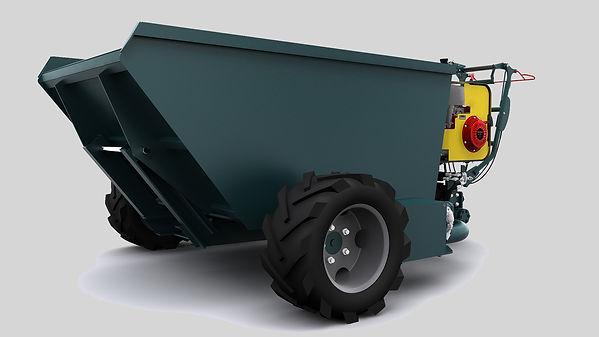 Dumper G12-00 vue de biais