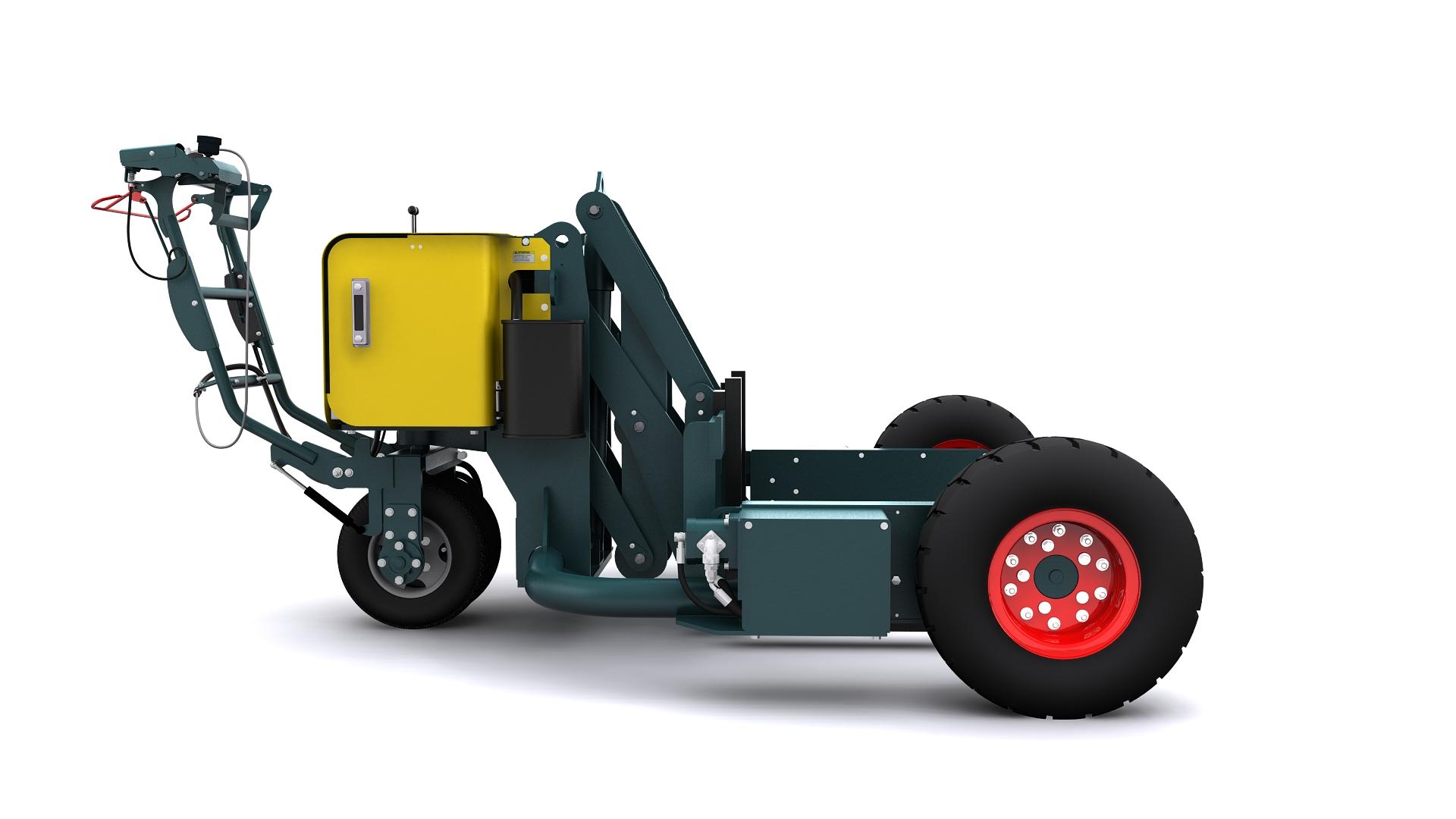 Hayon position basse - Standard chantier B0001