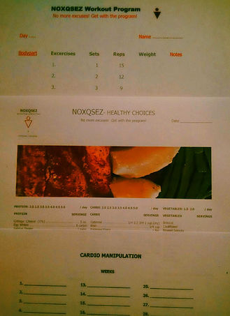 customized programs, nutrition consulting and cardio plans