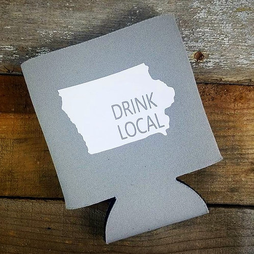 Drink Local Can Cooler