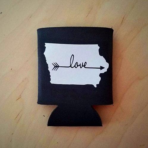 IA Love Arrow Can Cooler