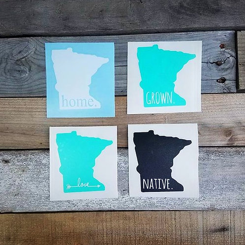Minnesota Decal