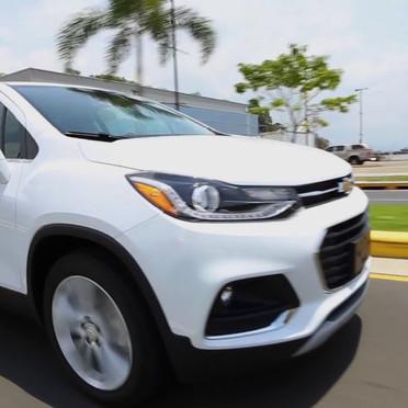 'Test drive' de la Chevrolet Trax 2018