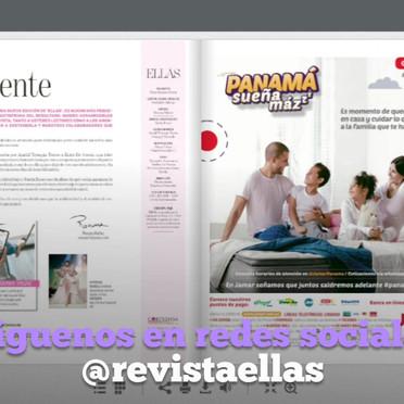 Producción y edición de comercial promocional para Revista ELLAS con sus Playlist en Spotify, una producción para Universal Music. Redacción de locución y campaña promocional para Corporación La Prensa.