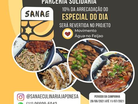 Campanha Solidária do MANF com Sanae Culinária Japonesa
