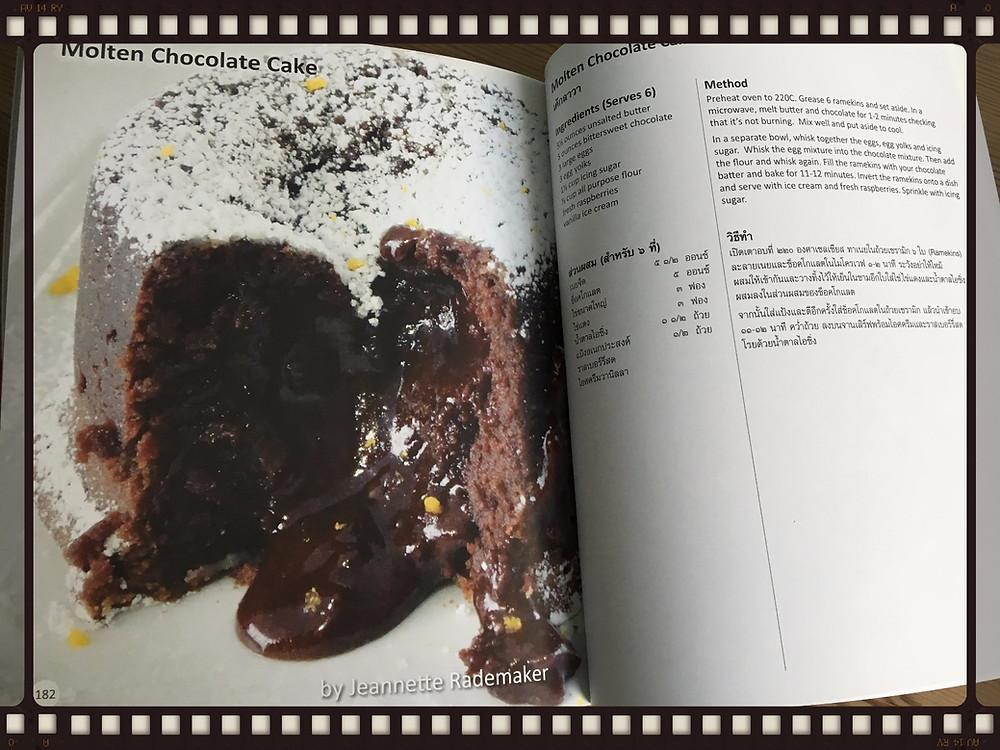 Recipe example: