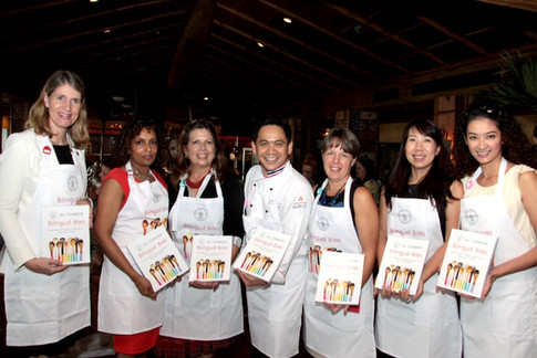 First cookbook launch party