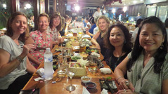 Japanese Dinner for International Women's Day.