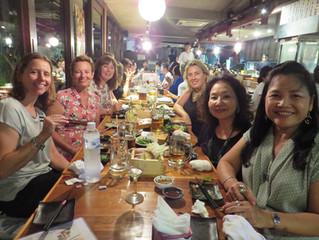 Japanese Dinner for International Women's Day.