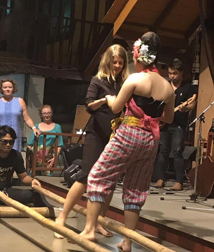 Bamboo Dancing