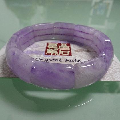 薰衣草紫晶手排