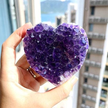 紫晶心心 No.195