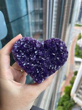 紫晶心心 No.210