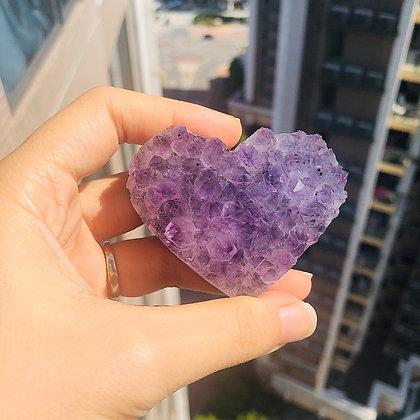 紫晶心心 No.24
