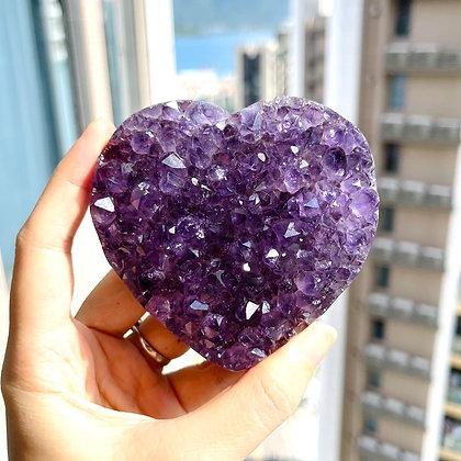 紫晶心心 No.194