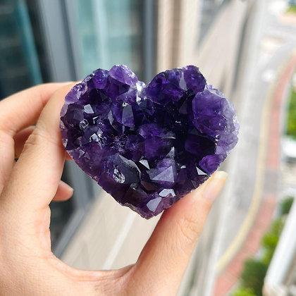 紫晶心心 No.163