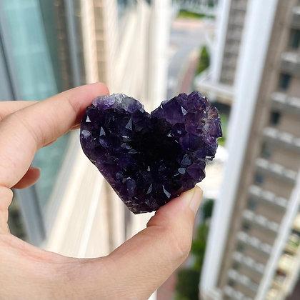 紫晶心心 No.169