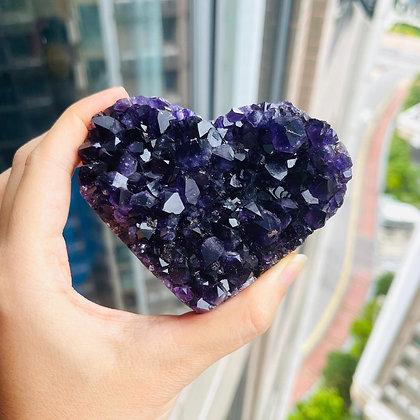 紫晶心心 No.160