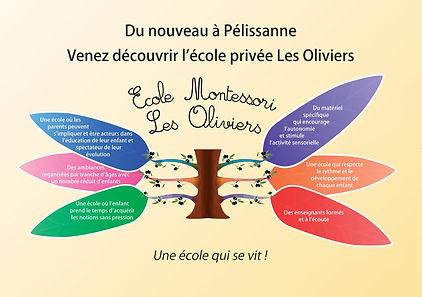 venez découvrir l'école privée les oliviers à Pélissanne