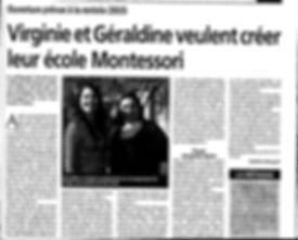 Virginie et géraldine veulent créer leur école Montessori à Pélissanne