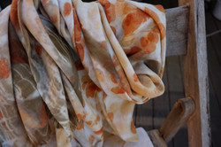 silk and wool wrap