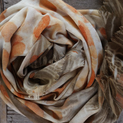 natural dyes on wool