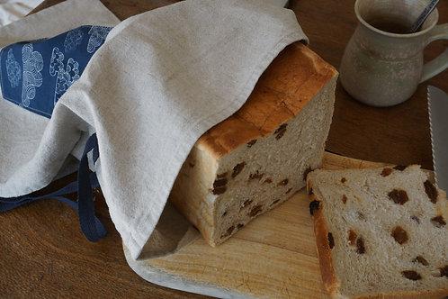 Bread Bag Large ~ organic linen/organic cotton blend