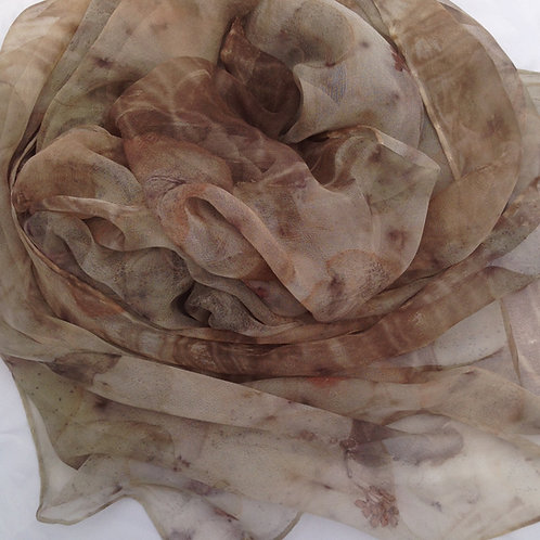 gentle silk georgette scarf