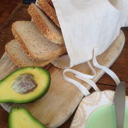 sliced loaf bread bag
