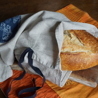 bread bag,fabric, Matilda Greensleeves