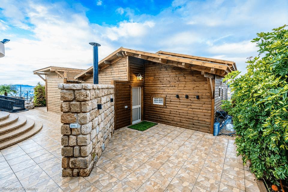 בית עץ מוכן עץ אורן