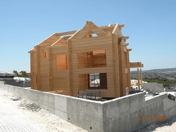 בית עץ גבעת נילי בתי לוג