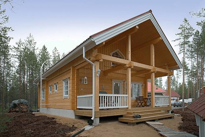 בית מעץ פינלנד