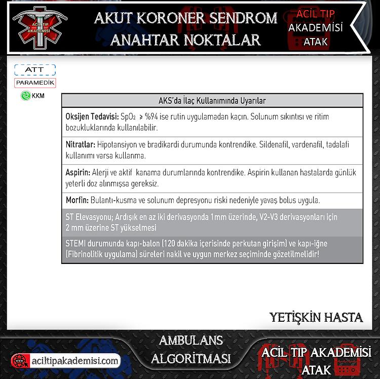 9.Acil Tıp Akademisi - ATAK - Akut-Koron