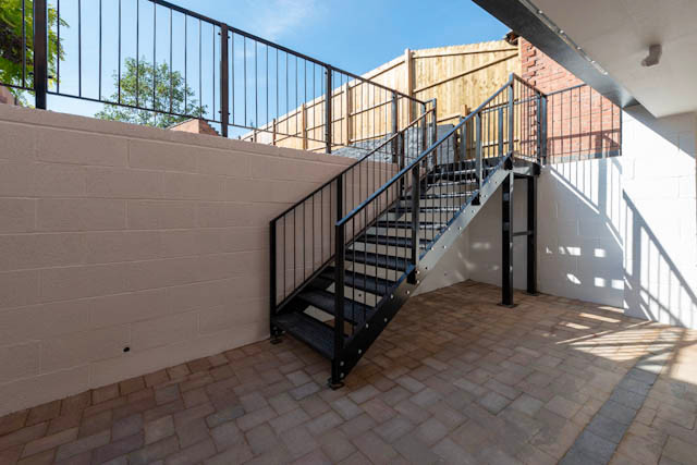 Stairs Upto Garden Area