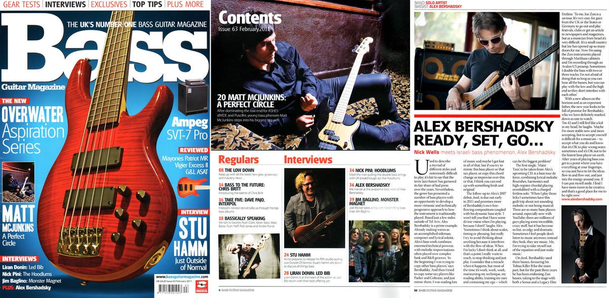 Bass Guitar Magazine UK