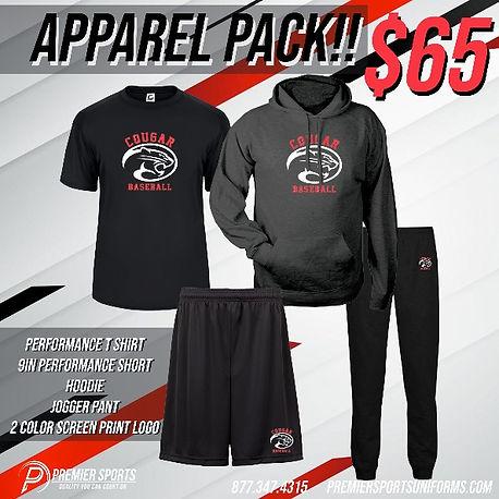 team apparel package