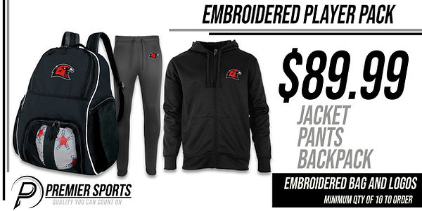 Team Apparel Player Packages