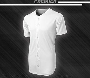 Full Button Softball Jersey