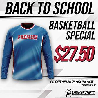 Basketball Shooting Shirts