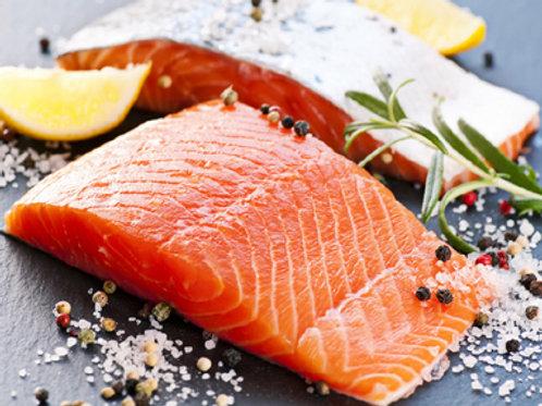 Pre Order - Wild Caught Alaskan King Salmon: 3lbs