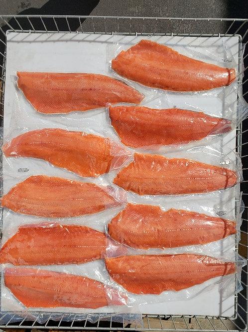 Frozen King Salmon Filets - 3 lbs