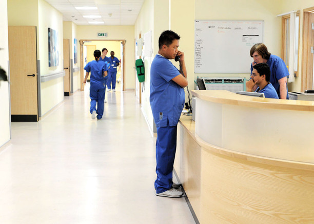 Hospital photography Stef Kerswell
